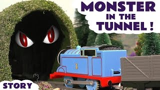 Thomas & Friends Monster In The Tunnel Toy Trains Episode - Train Toys for Kids Play - ToyTrains4u Video