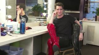 Elle Magazine: 10 Things Brendon Urie can do better than you in Kinky Boots