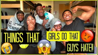 Video THINGS GIRLS DO THAT GUYS HATE 😡| COLLEGE BOY EDITION | Chika Awujo ♡ MP3, 3GP, MP4, WEBM, AVI, FLV Agustus 2018