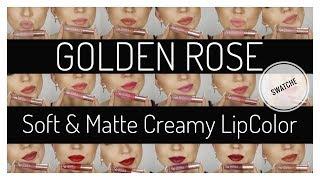 Soft & Matte Creamy Lip Color - Matowa pomadka do ust - Golden Rose