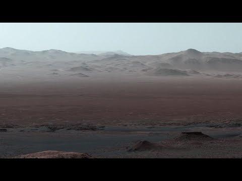 Curiosity at Martian Scenic Overlook_Best spacecraft videos ever