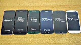 Video Samsung Galaxy S8 vs S7 vs S6 vs S5 vs S4 vs S3 - Speed Test! (4K) MP3, 3GP, MP4, WEBM, AVI, FLV November 2017