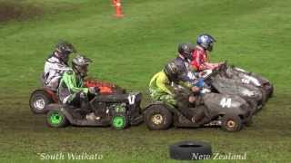 Tokoroa New Zealand  City new picture : Mower Racing Fun in Tokoroa New Zealand