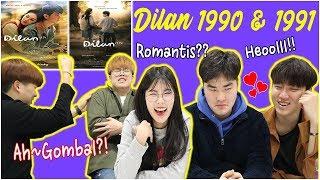 Video RECEH RECEH GOMBAL REAKSI ORANG KOREA NONTON DILAN 1990 &1991 인도네시아 영화 DILAN 줄거리 영상 보기!! MP3, 3GP, MP4, WEBM, AVI, FLV Maret 2019
