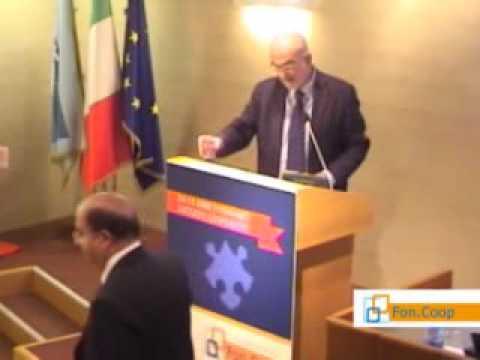 Il Decennale di Fon.Coop. Apertura del Presidente Scarzanella