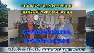 Akademia Medycyny Regeneracyjnej. Blokowanie Informacji w Mediach!