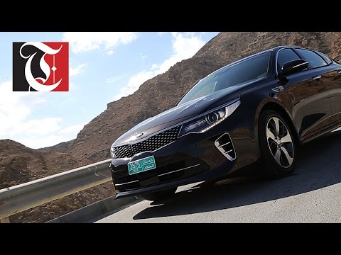 Tariq Al Haremi of Times TV test drives the 2016 KIA Optima.