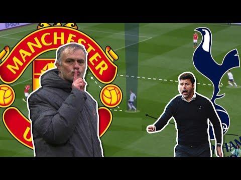 Pochettino Just Can't Beat Mourinho   Man United-Tottenham Tactical Analysis