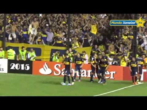 El gol de Daniel Osvaldo