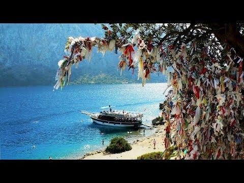 Turkije - 13 - Boottocht Hisaronu - Stop at Goat Island / 2013