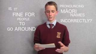 My name is Finnian Galbraith and I am a year 11 student at Kāpiti College. I wrote this speech initially for a speech competition in 2014 because I see this as a ...