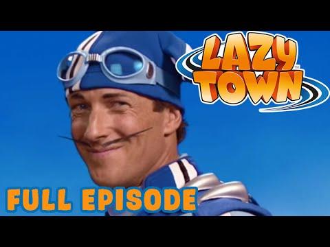 Lazy Town I Lazy Town's New SuperHero I Season 1 Full Episode
