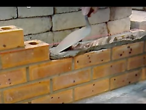 Bed Joint Bricklaying Mortar Spreading
