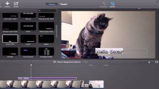 iMovie 10 Tutorial: Beginners and Basics