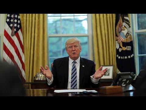 Америка 100 дней Дональда Трампа: паника у одних сюрпризы для других и рай для сатириков - DomaVideo.Ru