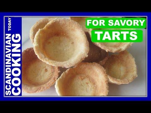 Tarteletter opskrift – An Easy Tarlet Pastry Base for Savory Tarts – Danish Easter