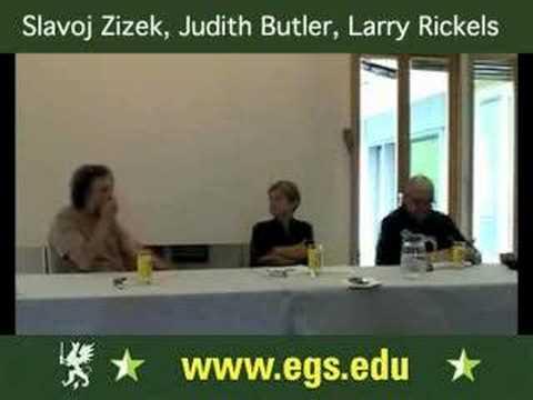 Slavoj Zizek, Judith Butler & Larry Rickels. Psychoanalysis. 2006 3/3