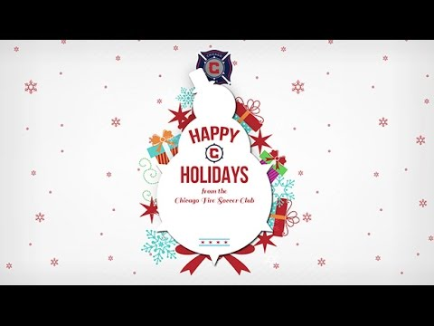 Video: Happy Holidays from the Chicago Fire