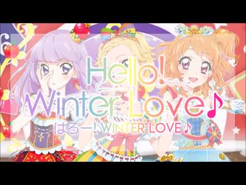 [FULL+LYRICS] Aikatsu! - Luminas - Hello! Winter Love♪  [はろー! Winter Love♪]