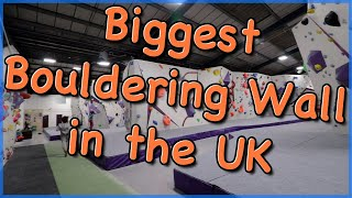 Biggest Bouldering Wall in the UK - The Climbing Nomads - Vlog 43 by The Climbing Nomads