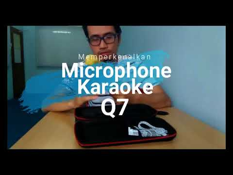 Quick Unboxing Microphone Q7 For KARAOKE / SMULE AT HOME | Bahasa Malaysia