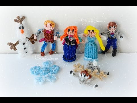 Rainbow Loom Disney Frozen Charms Collection!