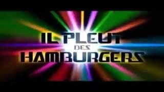 Música de lluvia de hamburguesas