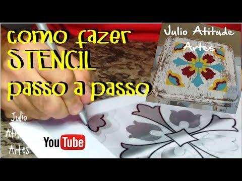 Stencil de azulejo português