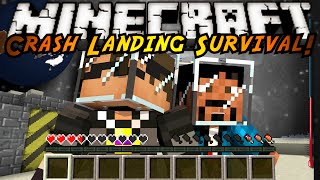 Minecraft Modded Crash Landing : INSERT TITLE HERE!
