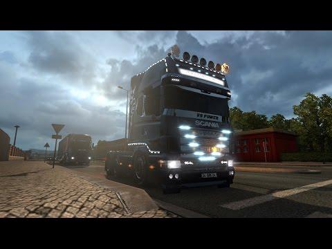 Scania 164L + Krone Trailer v1.0