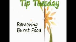 Removing Burnt Food - Tip