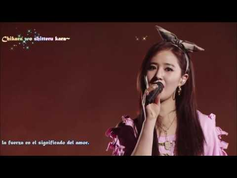 SNSD All my love is for you Sub Español Live Tokyo Dome