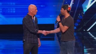 Video America's Got Talent 2015 S10E01 Chris Jones Hypnotizes Howie Out Of His Germaphobia MP3, 3GP, MP4, WEBM, AVI, FLV Agustus 2018