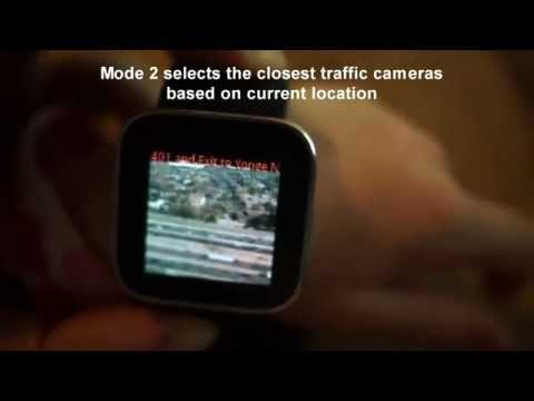 Video of Augmented Traffic Smart Watch