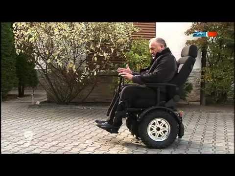 Elektro-Rollstuhl mit nur einer Achse - MDR Einfach genial - 27.12.2011