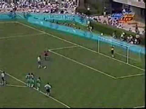 Atlanta 96' Olympic Final: Nigeria Vs Argentina