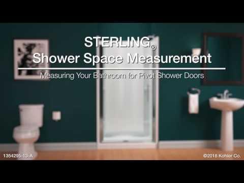 Vista Pivot Ii Framed Swinging Shower Door 42 Quot 48 Quot W X 65