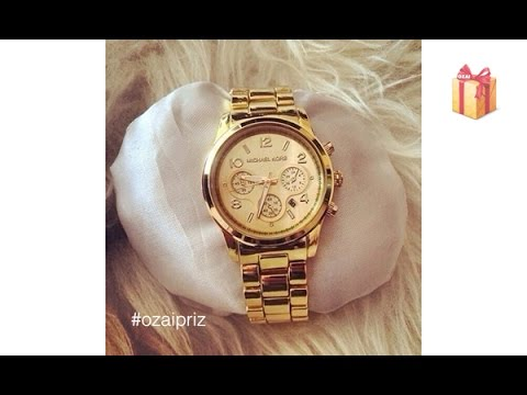Разыгрываем часы Michael Kors В ПОДАРОК видео