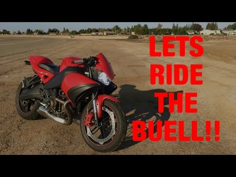 Why a Buell 1125cr you ask? At 500 subs?! And your first bike?