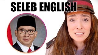 Video Fadli Zon, Nicholas Saputra, Luna Maya - Seleb English MP3, 3GP, MP4, WEBM, AVI, FLV November 2018