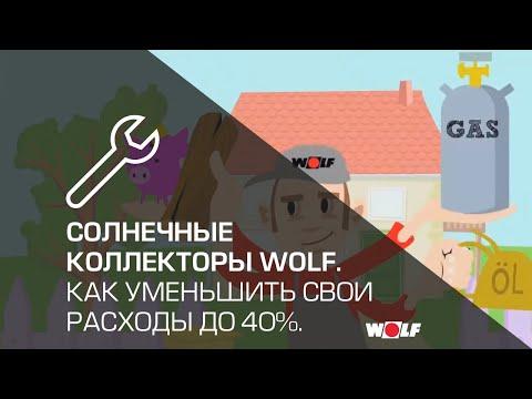 Солнечные батареи и коллекторы Wolf. Как уменьшить свои расходы до 40%.