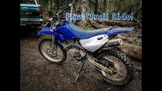 10. First time Trail Riding! *06 Yamaha TTR125LE*