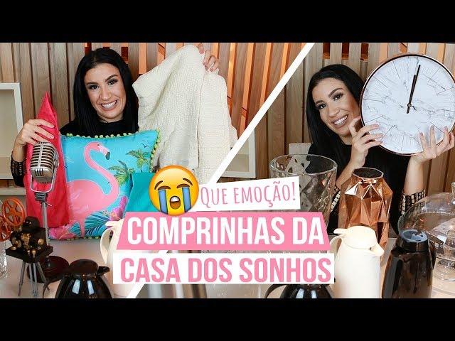 PRIMEIRAS COMPRINHAS DA CASA DOS SONHOS - Boca Rosa