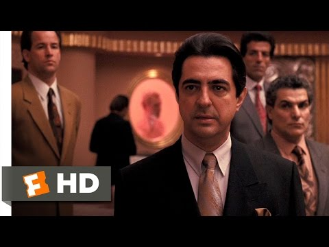 The Godfather: Part 3 (4/10) Movie CLIP - Joey Zasa Gets No Respect (1990) HD