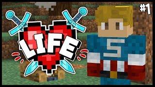 A NEW DANGEROUS ADVENTURE..   Minecraft X Life SMP   #1