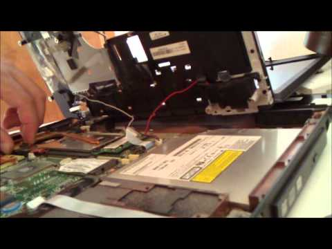 Toshiba satellite a100 advanced cleaning dc plug adaptor repair