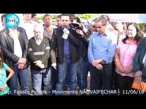 Fernandópolis - Dep. Federal Fausto Pinato...ambos precisam dar um passo para trás