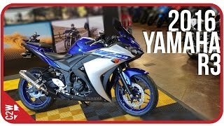 1. 2016 Yamaha R3 | First Ride