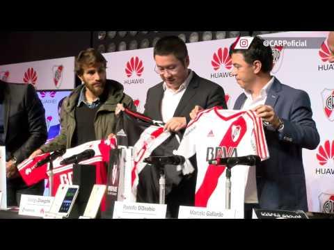 Presentaci�n alianza River y Huawei