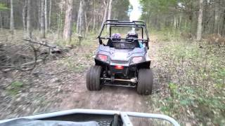 9. 2016 Polaris rzr 170 trail riding